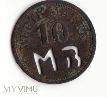Moneta zastępcza 10 WERTH-MARKE