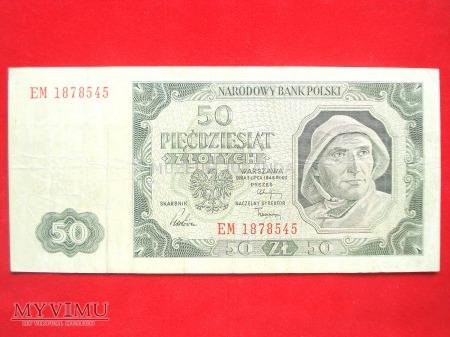 50 złotych 1948 rok