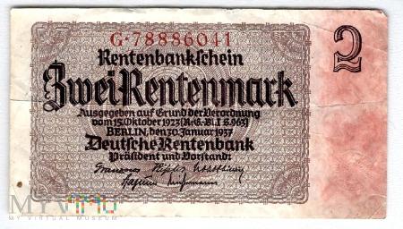 Niemcy, 2 marki 1937