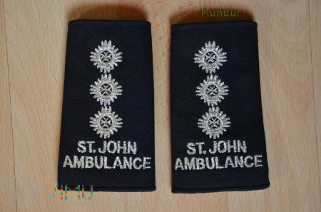 Wieka Brytania-oznaka stopnia: St. John Ambulance
