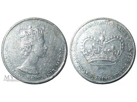 Duże zdjęcie Elżbieta II Wielka Brytania medal aluminiowy 1953