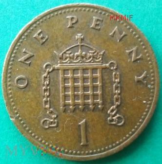 1 One Penny Wielka Brytania