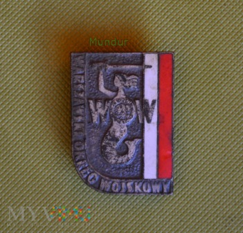 Duże zdjęcie Odznaka Warszawski Okręg Wojskowy