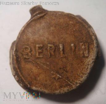 ołowiana plomba Berlin m.b.H