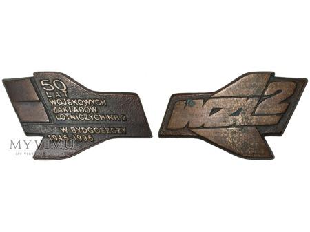 50 lat WZL nr 2 w Bydgoszczy medal 1996