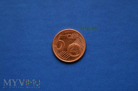 Moneta: 5 euro cent - Niemcy