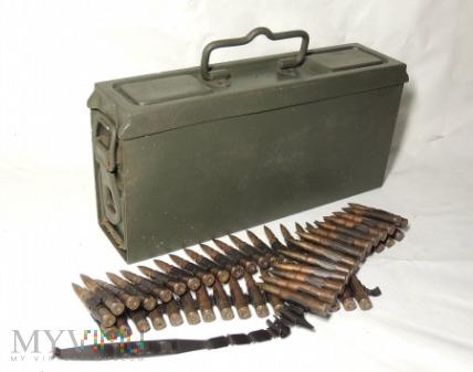 Niemiecka skrzynka na taśmy amunicyjne do mg