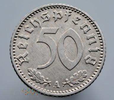 Duże zdjęcie 50 Reichspfennig 1941