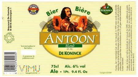 DE KONINCK ANTOON
