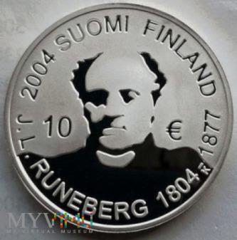 10 euro 2004 r. Finlandia