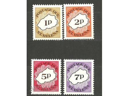 St.Helena -Postage Due