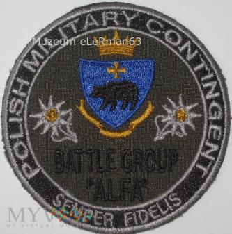 GB Alfa Afganistan ISAF zm. VI.