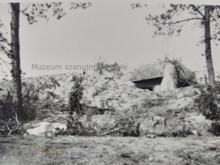 zniszczony polski bunkier 1939