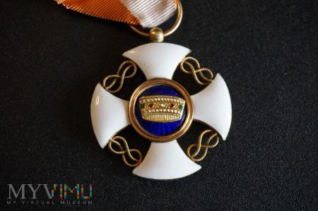 Order Korony Włoch - Krzyż Kawalerski - komplet