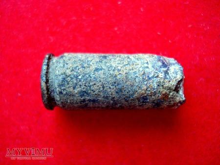 Łuska 7,62 x 25 mm.