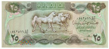 Irak - 25 dinarów (1982)