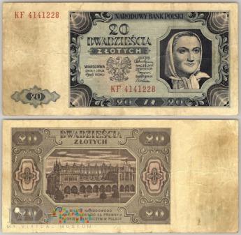 20 zł 1948r.