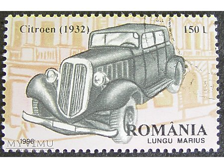Citroen (1932) znaczek