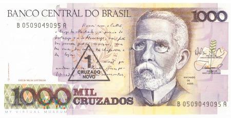 Brazylia - 1 cruzado novo (1989)