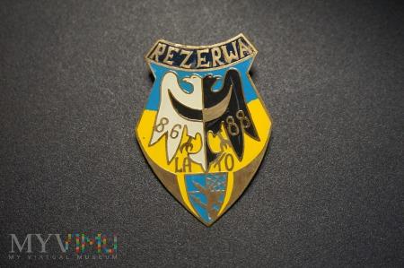 Odznaka Rezerwy Lato 86/88 - Wrocław