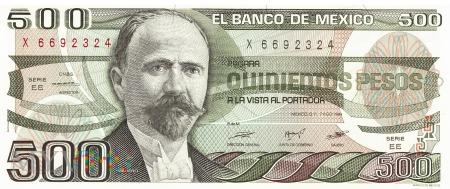 Meksyk - 500 pesos (1984)