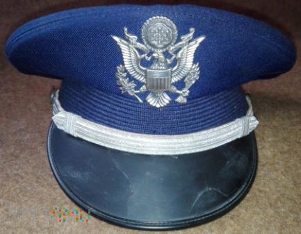 USAF Honour Guard officer ceremonial cap