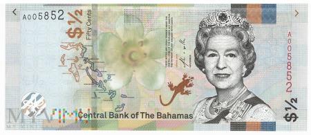 Bahamy - 50 centów (2019)