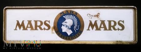 Metalowe pudełko po ołówkach 'Mars'.