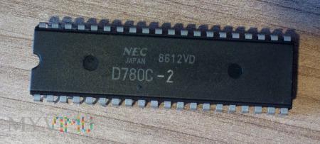 Duże zdjęcie Mikroprocesor NEC D780C-2 klon Z80
