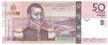 Haiti - 50 gourdes (2016)