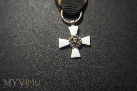 Miniatura Krzyża Waleczności - Bułak-Bałachowicza