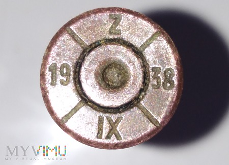 Luska 7,92x57 Mauser [19/Z/38/IX]