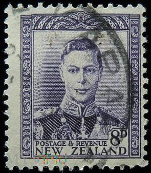 Nowa Zelandia 8D Jerzy VI