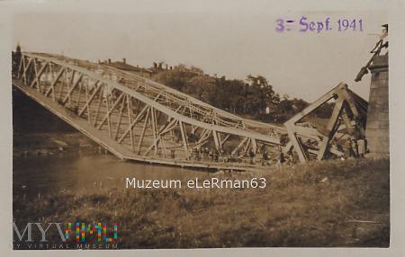 Most główny na Sanie w Przemyślu.