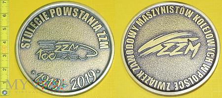 Duże zdjęcie Medal kolejowy - związkowy ZZMK w Polsce