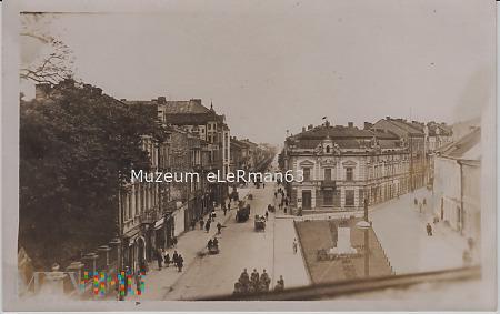 Placu na Bramie w Przemyślu. Okupacja niemiecka