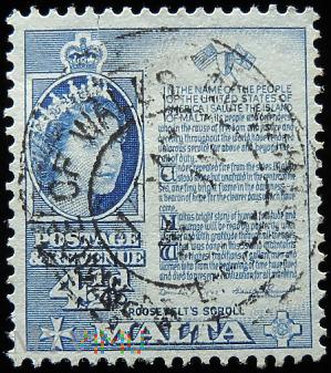 Malta 4½d Elżbieta II