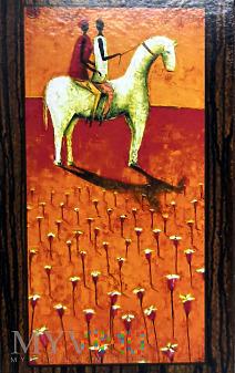 obrazek naścienny z motywem konia