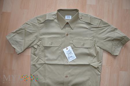 Koszula khaki SG z krótkimi rękawami