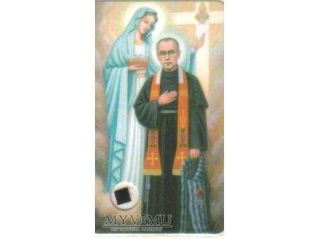 Relikwie Św. Maksymiliana Kolbego