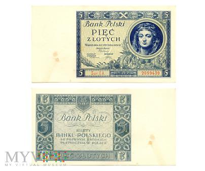 5 złotych 1930 (EA. 2099659)