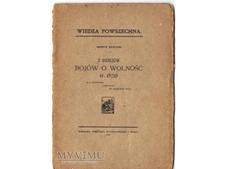 Z dziejów bojów o wolność(r.1831).