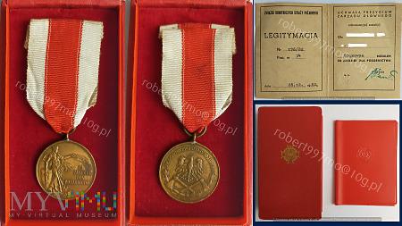 Brązowy Medal Zasługi Dla Pożarnictwa.