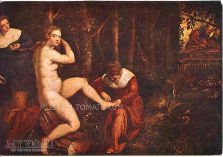 Tintoret - Zuzanna w kąpieli