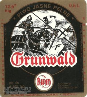 Browar Szczytno Piwo jasne pełne Grunwald