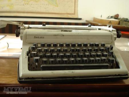 Ljubawa - rosyjska maszyna do pisania