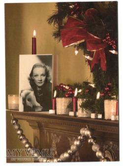 Marlene Dietrich na Święta 2011 od magiakartek.pl