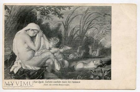 Van Dyck - Callisto ukryta w trzcinach