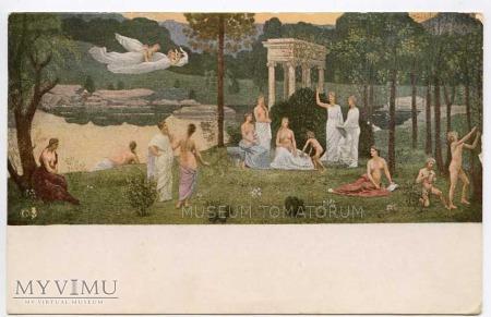 P. Puvis de Chavannes - Święty Gaj