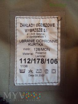 Ubranie ochronne 128/MON 2007
